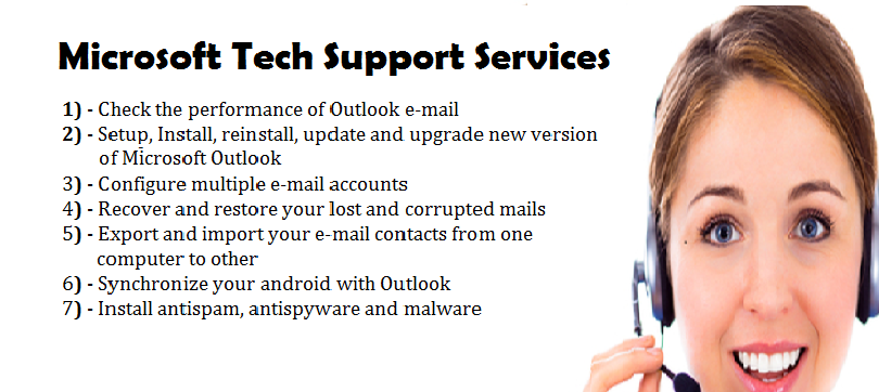 Microsoft Outlook Tech Support Services: Microsoft Tech Support ...