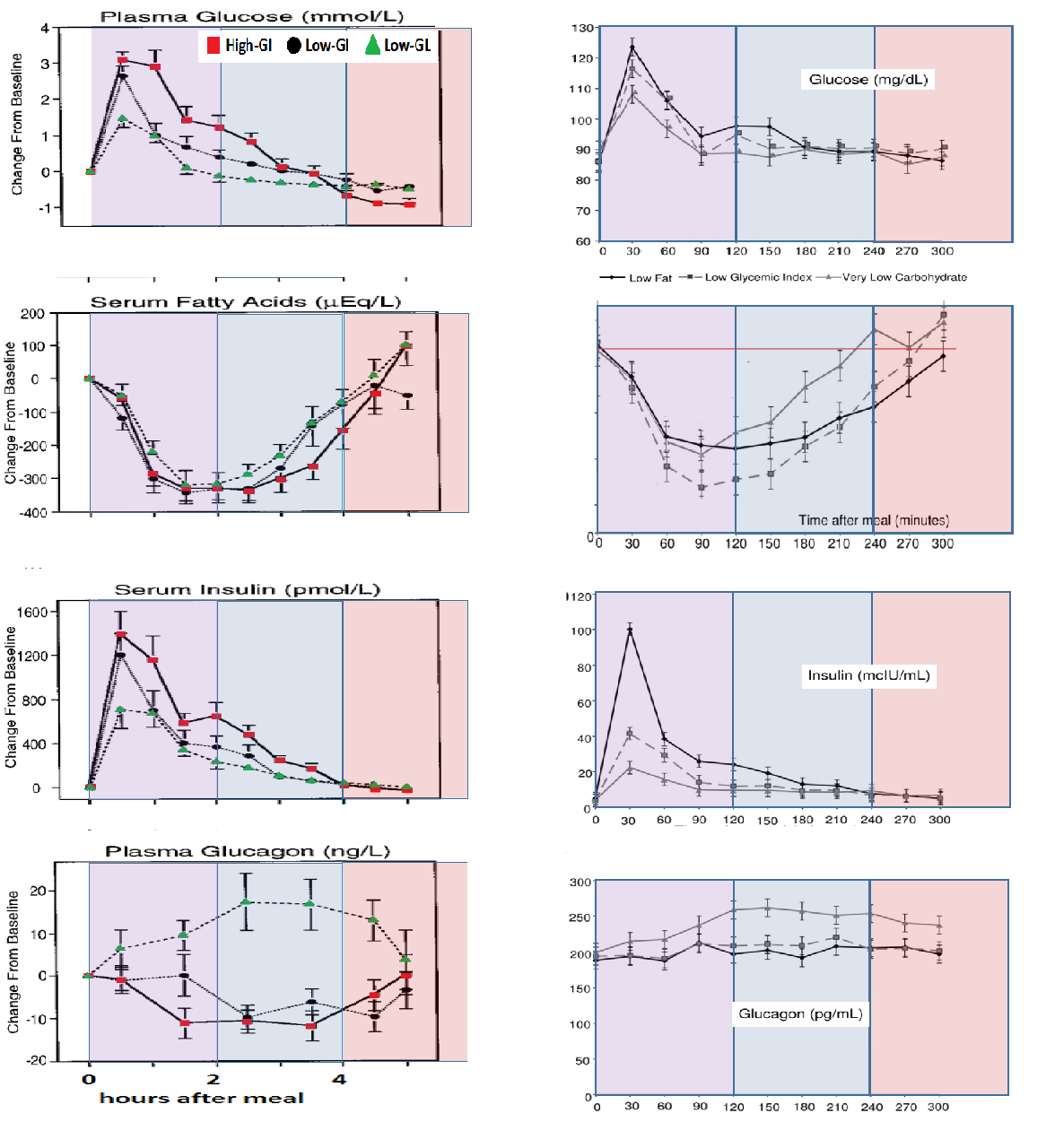 The CarbSane Asylum More on the Mechanisms of the Glycemic Index – Glycemic Index Chart Template