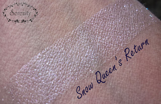 Notoriously Morbid Snow Queens Return Swatch