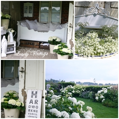 lovely vintage morgen shabby chic bauerngarten mit. Black Bedroom Furniture Sets. Home Design Ideas