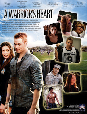 a warriors heart poster pelicula film kellan lutz ashley green emmett alice twilight crepusculo saga eclipse amanecer breaking dawn 1  A Warrior's Heart – DVDrip 2001 Latino 1 link
