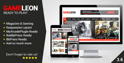 Gameleon WordPress Theme Free [Current Version 3.6]