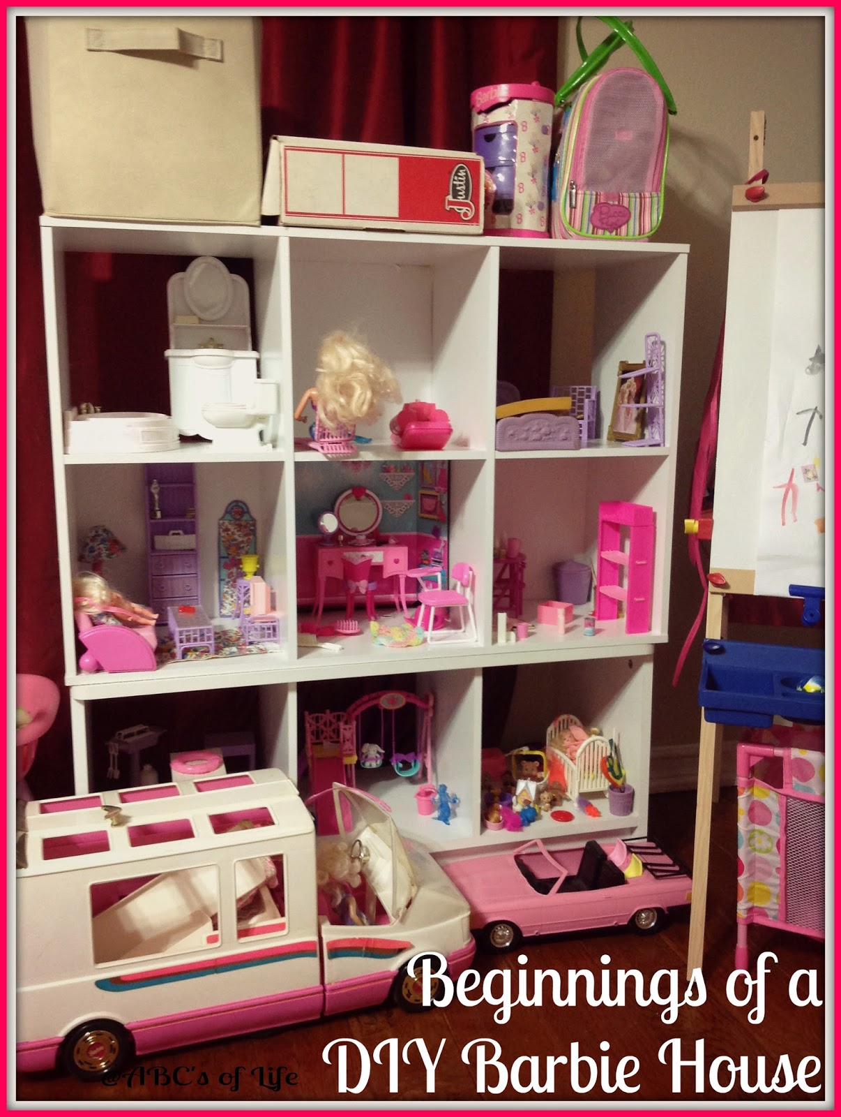 Beginnings Of A DIY Barbie House Ashley Nicole Designs