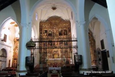 Altar Mayor Iglesia San Juan Bautista, Marchena