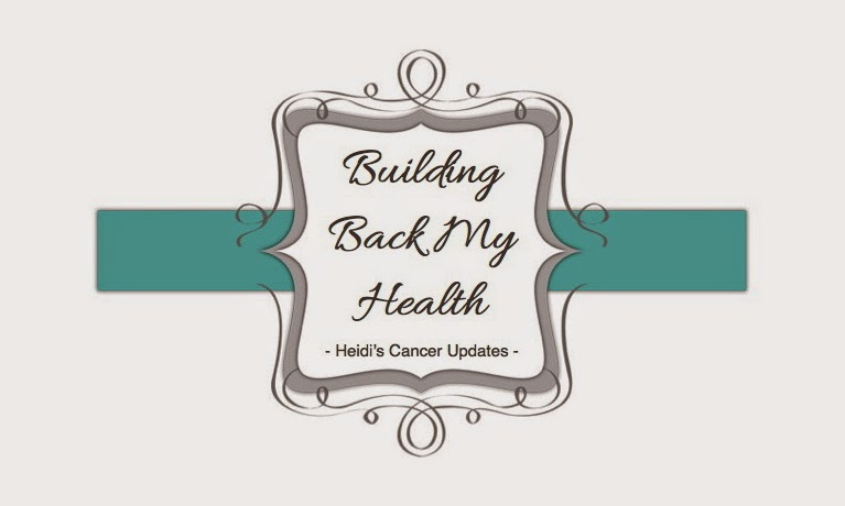 Building Back My Health