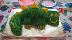 Luke's Dinosaur Birthday Cake