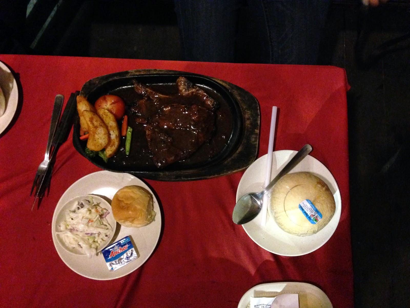 Lamb chop at Puncak Mutiara Cafe