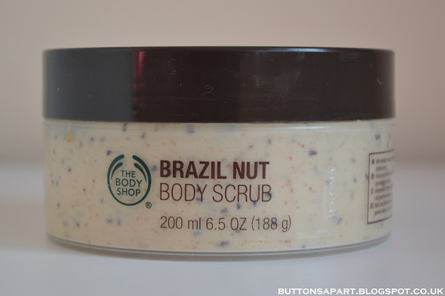 a picture of the body shop brazil nut body scrub