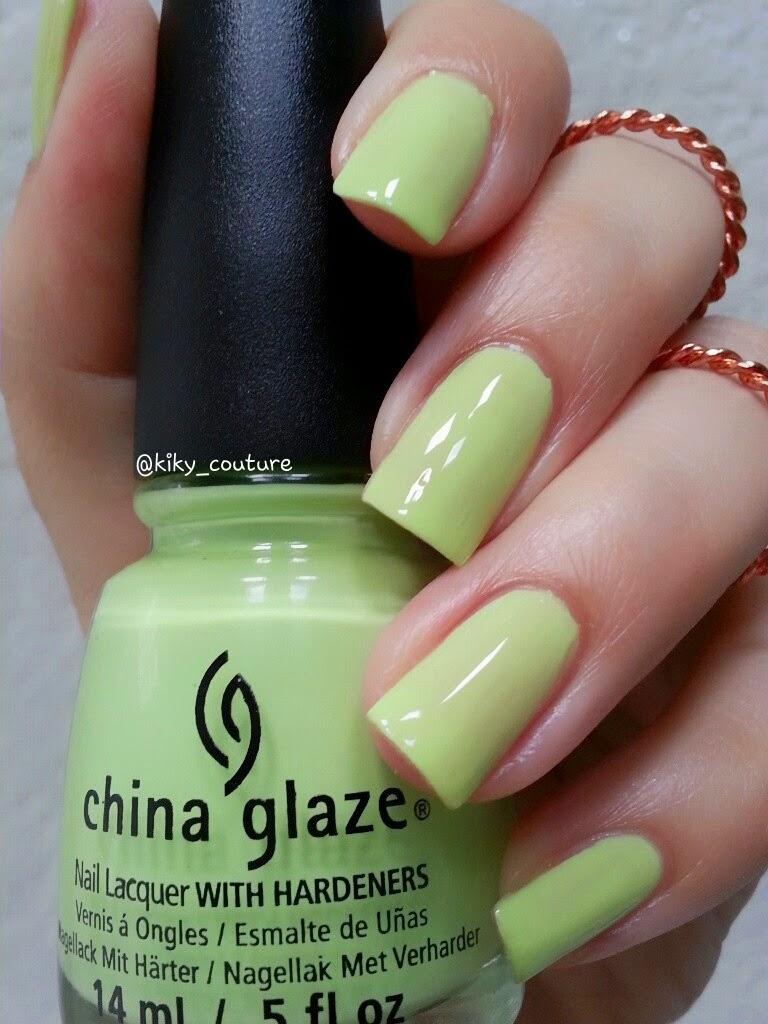 El rincón de los esmaltes.: China Glaze, colección Off Shore.