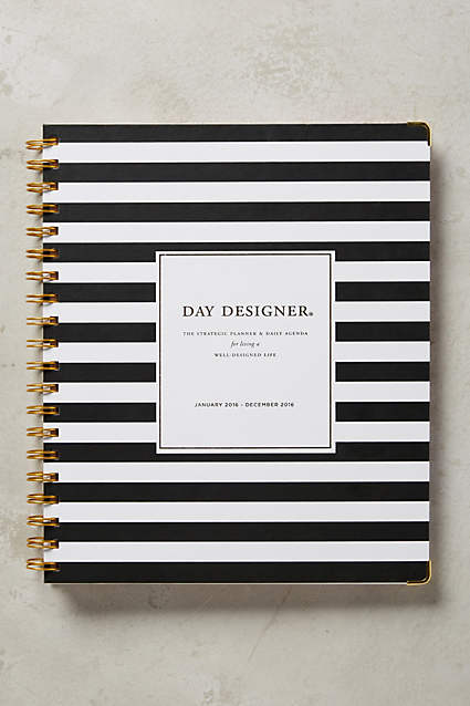 Whitney English Day Designer - The Happiness Planner - Prettiest Planners 2016 | #getorganized #schedule #planner #organizer