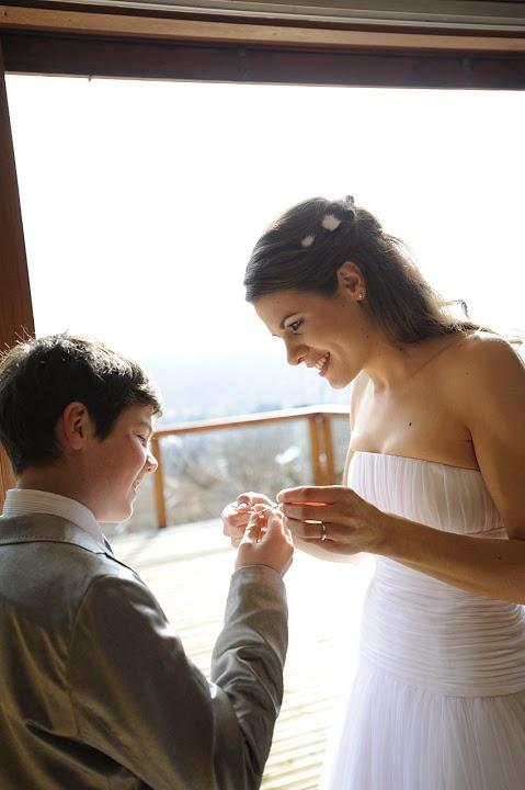 Wedding Spirit blog mariage robe Delphine Manivet modèle Alban mariage en Haute Savoie