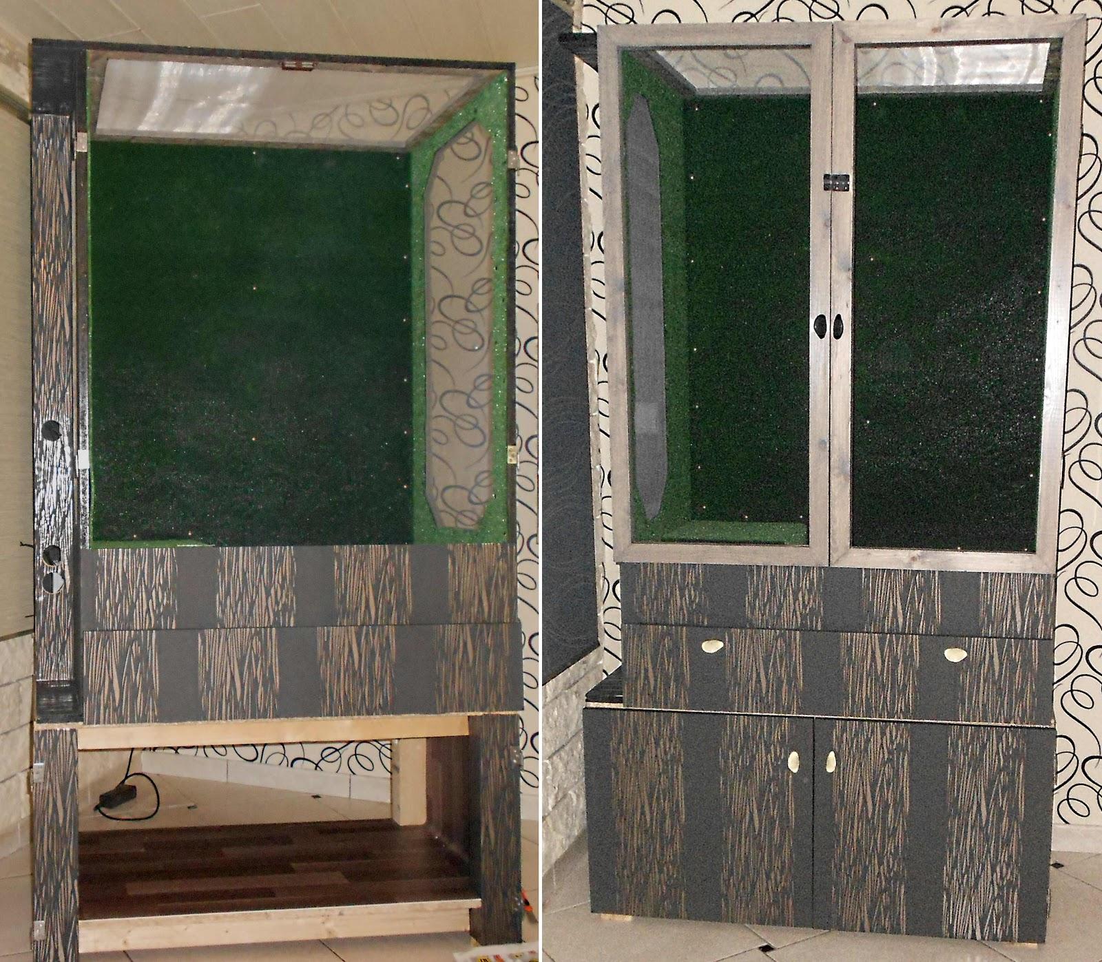 Les l zards d 39 eric et sandrine terrarium arboricole for Moquette pelouse exterieur