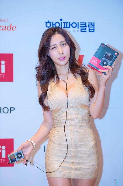 Lee Da Hee Korea Speed Festival 2014 | Korean HD Girls
