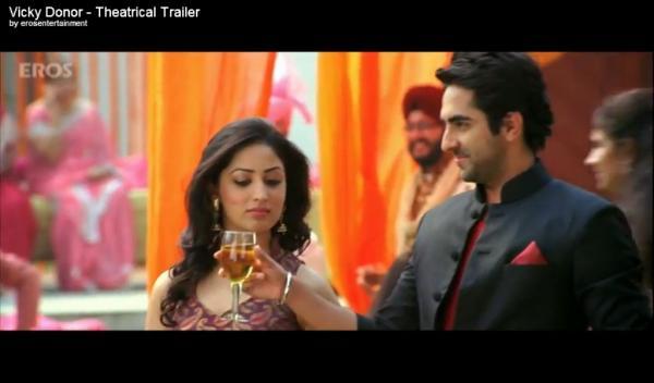 Asha Ashish: Vicky Donor - Theatrical Trailer feat ... Yami Gautam And Ayushmann Khurrana In Vicky Donor