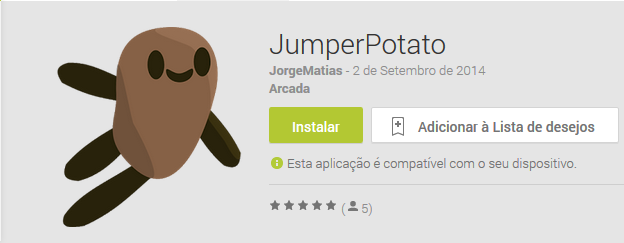 Jumper Potato, Flappy Birds
