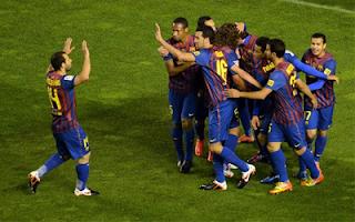 أهداف مباراة برشلونه وفايكانو 7-0 في الدوري الاسباني 29-4-2012