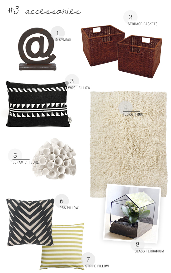 Shop decorative accessories collection for a casual loft style