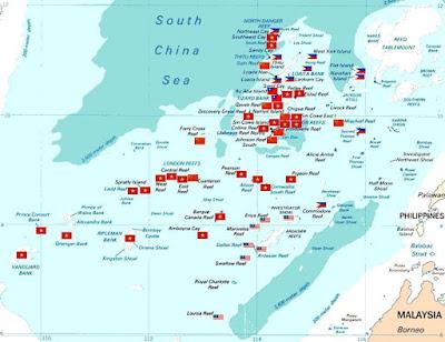 Spratly Island Map