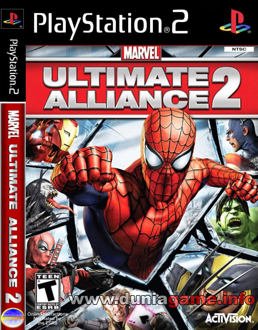 Download Marvel Ultimatte Alliance 2 PS2 ISO