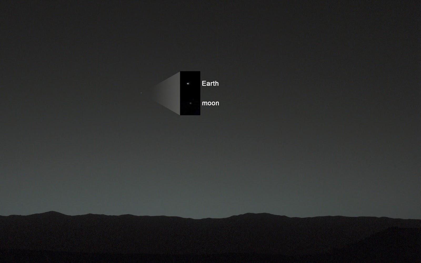 NASA, Dünyanın fotoğrafını Aydan çekti