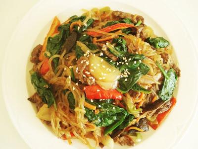 Makanan Korea Japchae