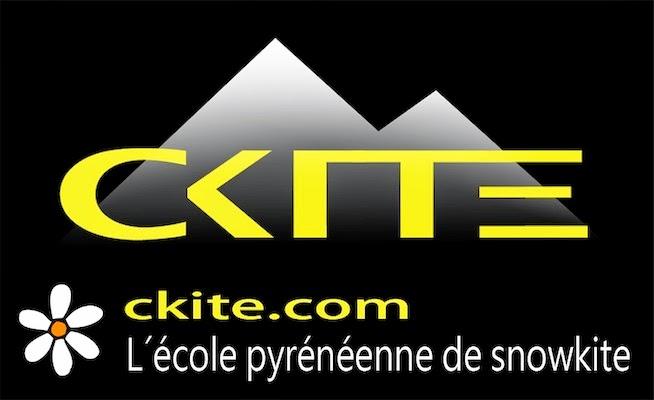 Snowkiting Pyrénées / C.Kite
