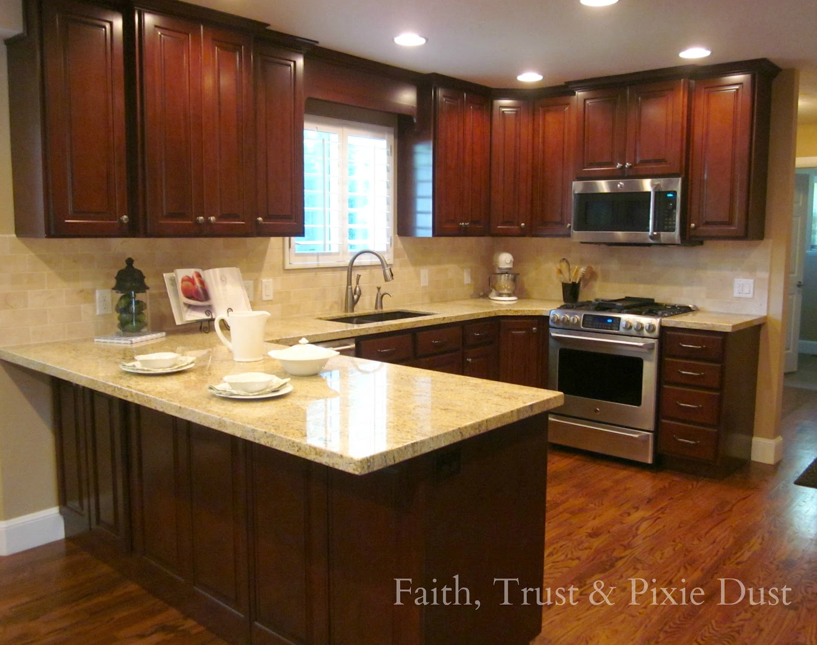 Faith, Trust, and Pixie Dust: A Spectacular Kitchen Remodel