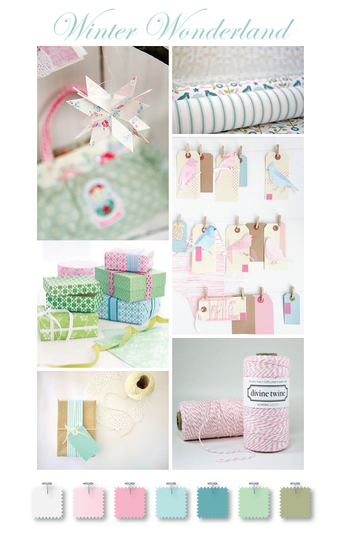 My Winter Wonderland wrapping inspiration by Torie Jayne
