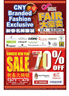 CNY Branded Fashion Exclusive Sale