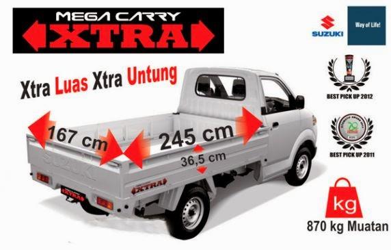 Mega Carry Xtra: 'Xtra Luas, Xtra Untung'