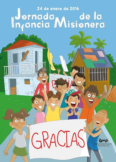 Cartel Infancia Misionera 2016