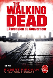 couverture roman walking dead
