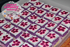 Bluberry Slice Cake 36pcs