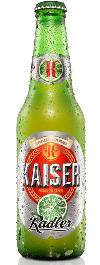 Kaiser lança cerveja com suco de limão