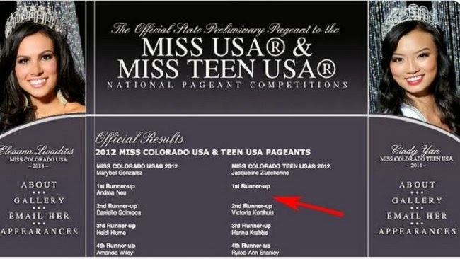 Miss Colorado Teen USA, Kristy Althaus, Kristy Althaus porno