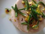 Mousse de atún y pistachos