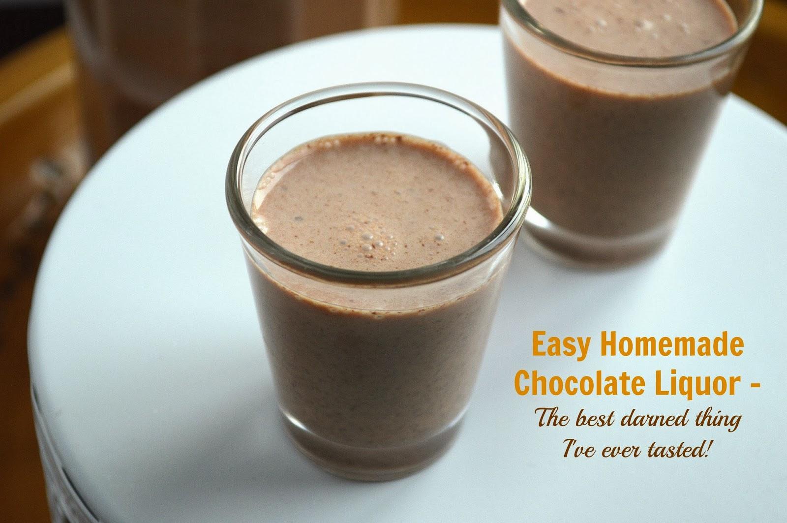 Souffle Bombay: Creamy Homemade Chocolate Liquor