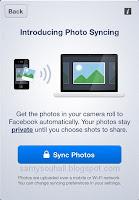 خدمة مزامنة الصور التلقائية..الآن على موقع فيسبوك..!