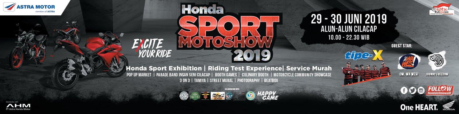 HONDA  SPORT 2019 30 Juni
