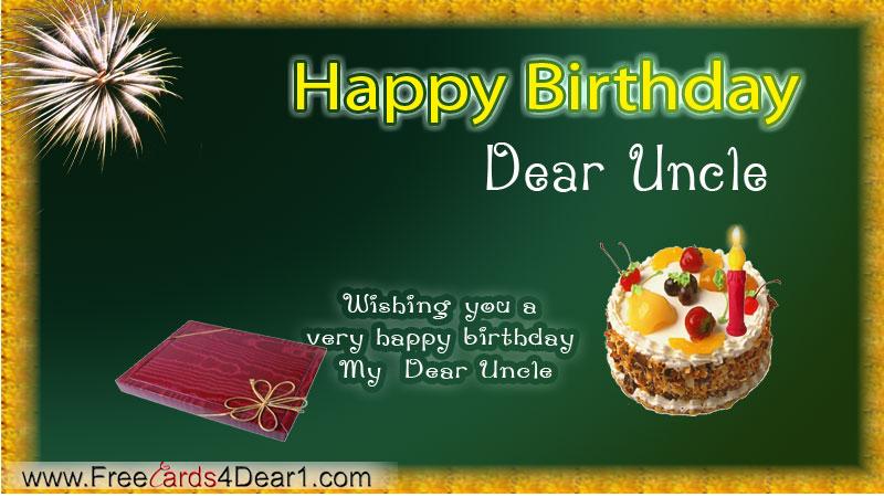 Birthday Card For Uncle gangcraftnet