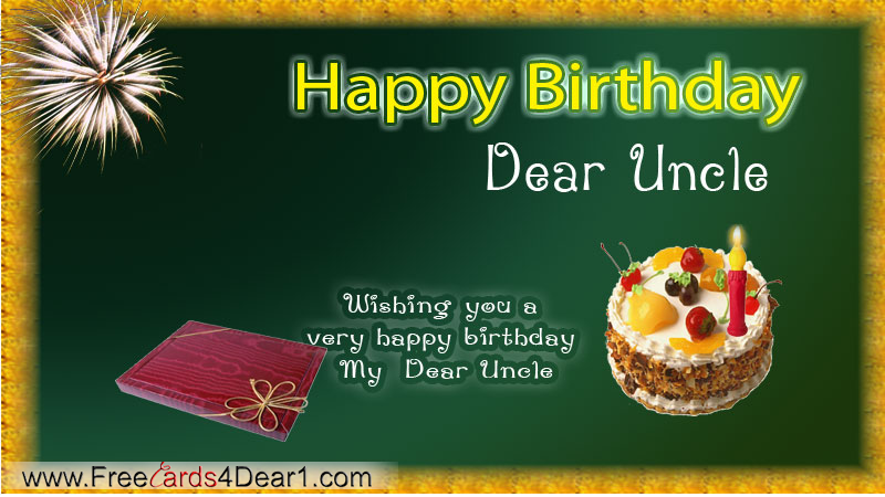 Uncle birthday card free happy birthday greeting printable cards for