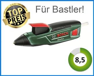 Bosch Gluepen testsieger heißklebepistole