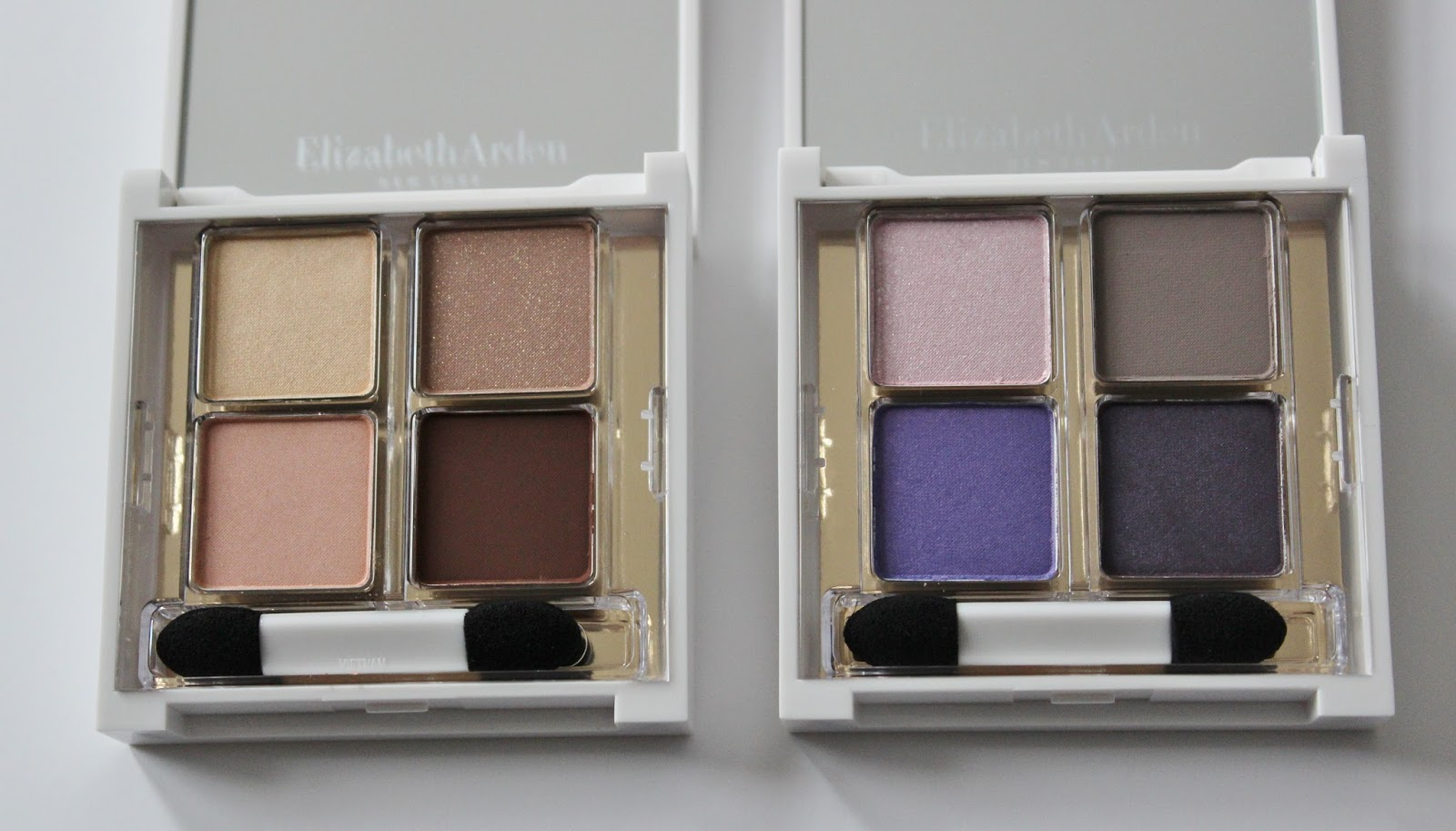 Elizabeth Arden untold aw14 makeup launches eyeshadow quads