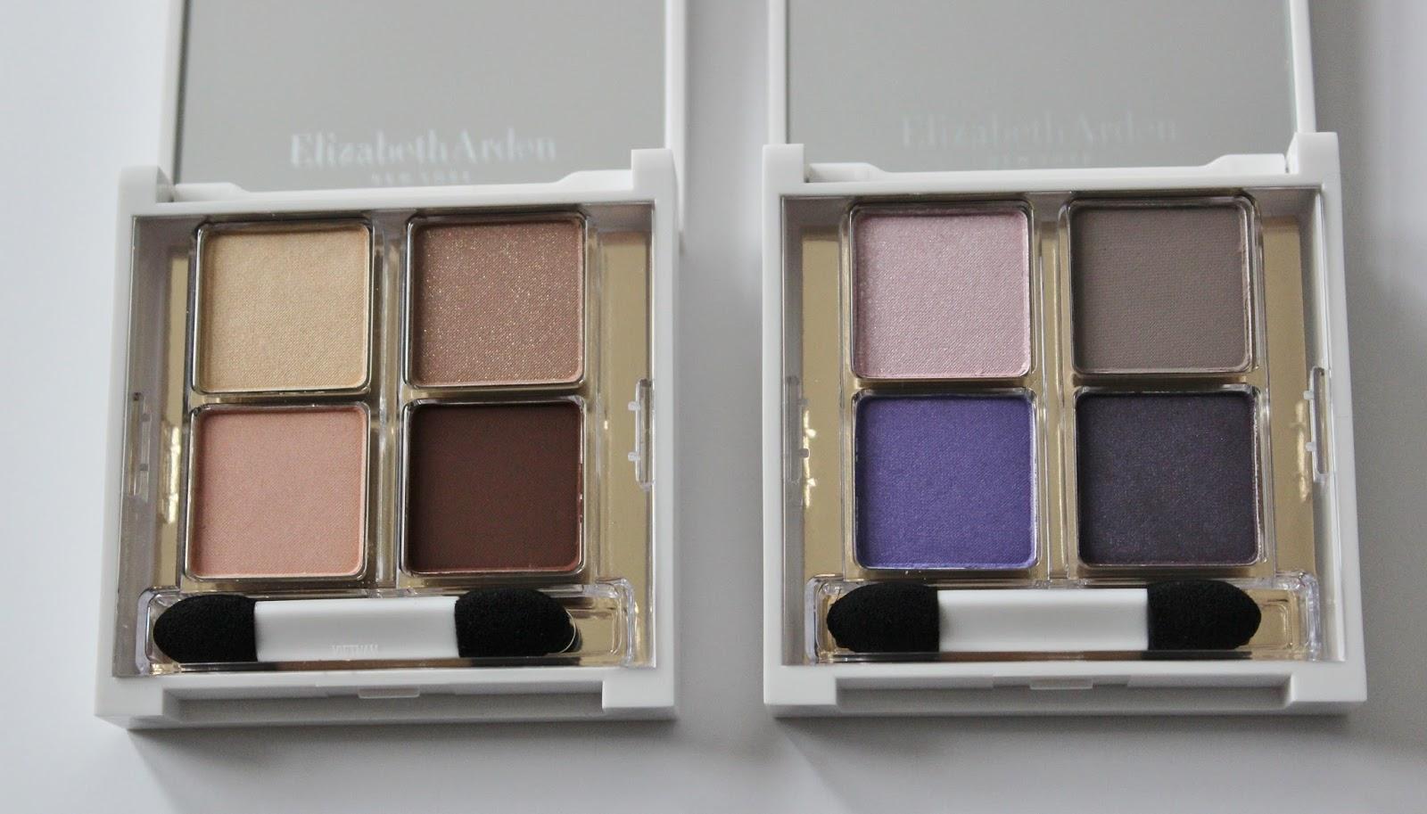 Elizabeth Arden untold aw14 makeup launches eyeshadow quads
