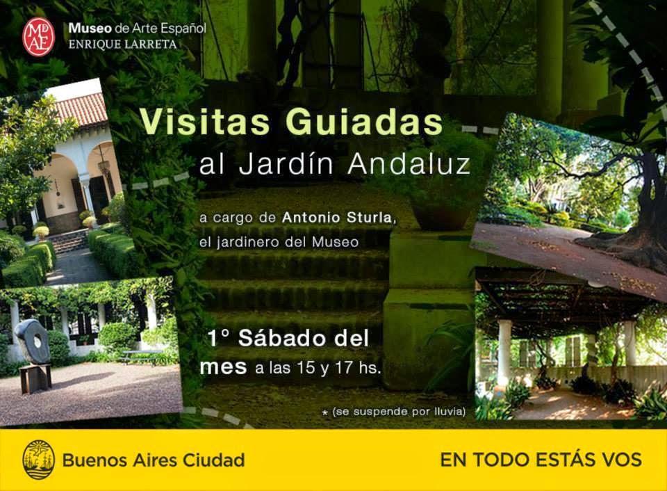 Leo veo y te cuento visitas guiadas al jard n andaluz for Jardin andaluz