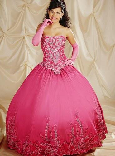 vestido para madrinha de debutante com saia volumosa - fotos e dicas