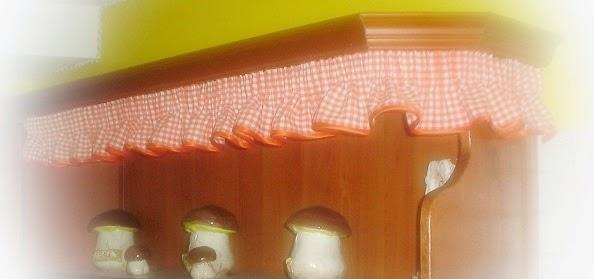 La signora delle idee tende e accessori cucina country - Idee tende da cucina ...