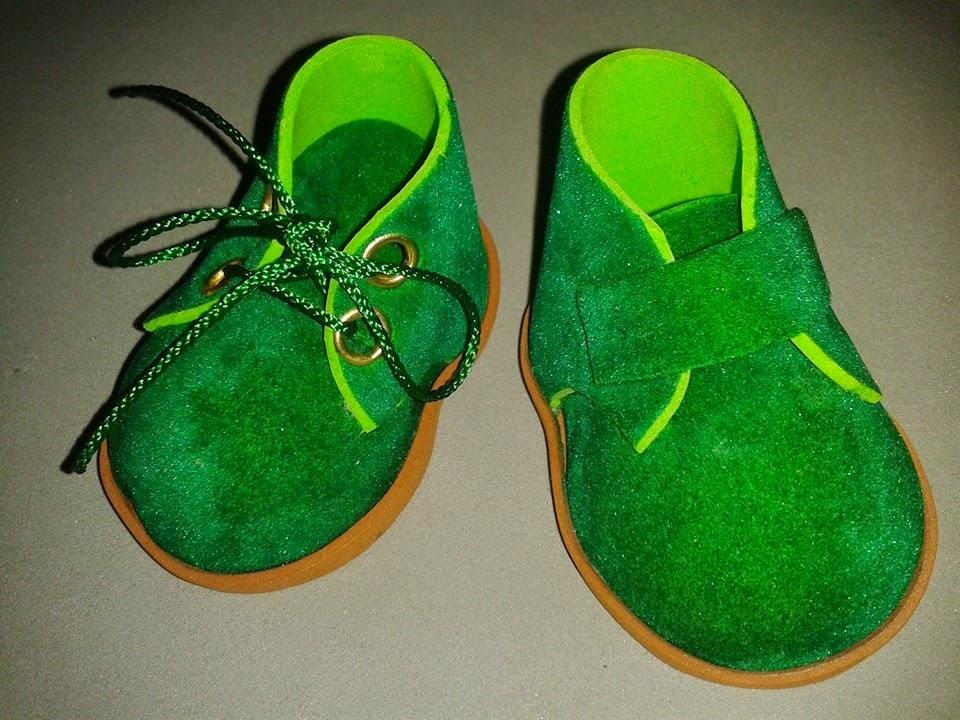 tutorial zapatos fofucha