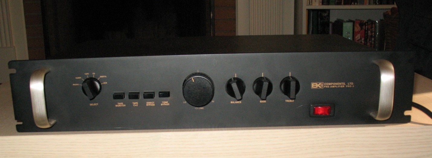 B&K Pro-5 Stereo Preamplifier Reviews