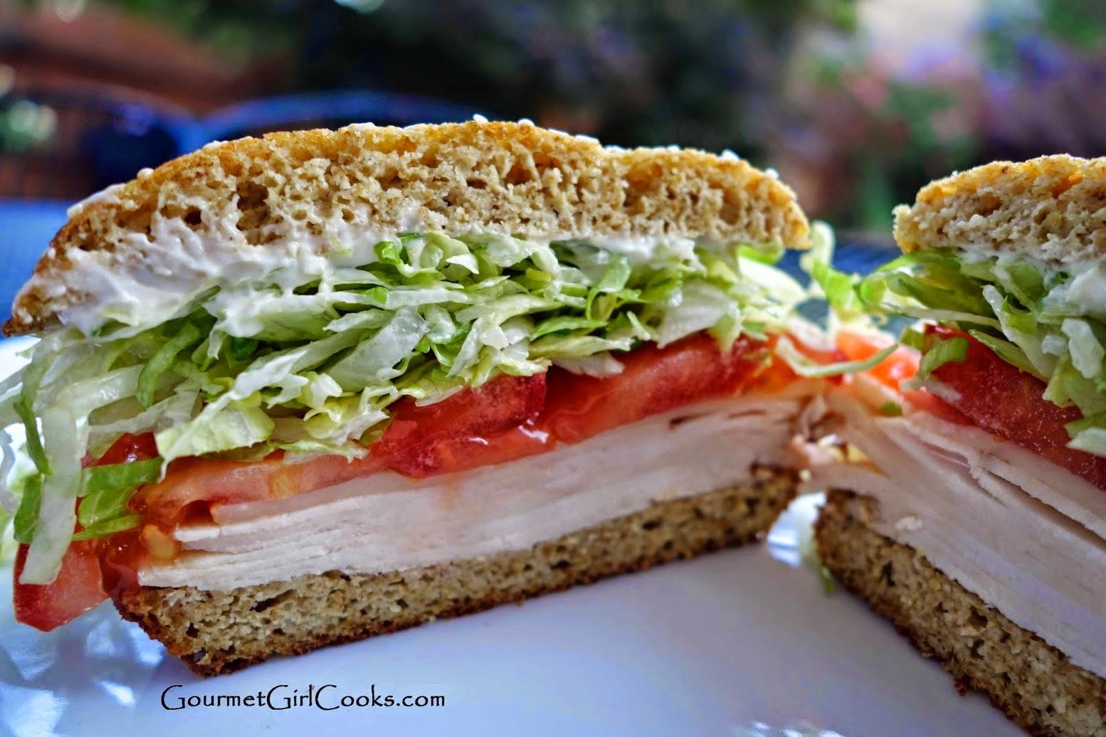 Sesame Seed Sandwich Buns
